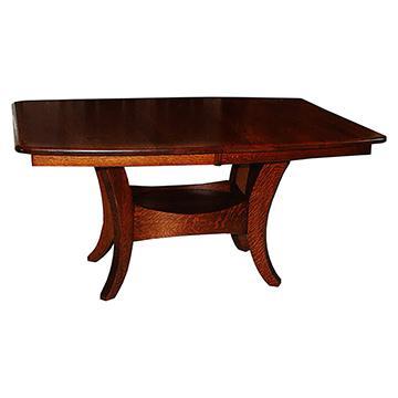 Sierra Double Pedestal Table
