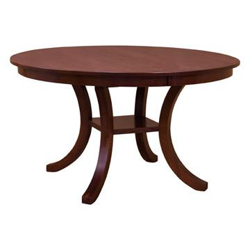 """Carlisle 54"""" Round Dining Table with Leaf"""