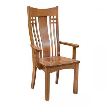 Amish Mission Larson Arm Chair