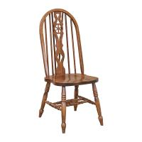 Traditional Wheel Fiddle Side Chair