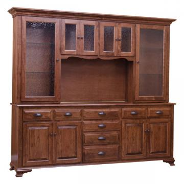 Traditional China Cabinet - Character Cherry
