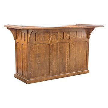 craftsman furniture. Mission Bar With Wine Cooler Craftsman Furniture