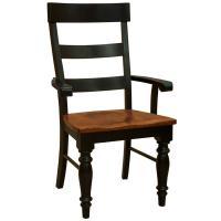 Two-Tone Amish Savana Arm Chair