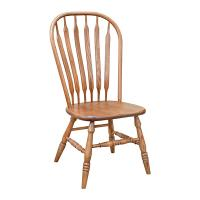 Traditional Jumbo Bow Back Side Chair