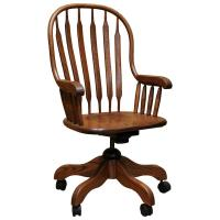 Amish Jumbo Office Arm Chair