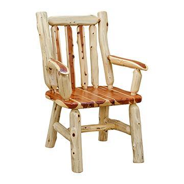 Rustic Cedar Arm Chair