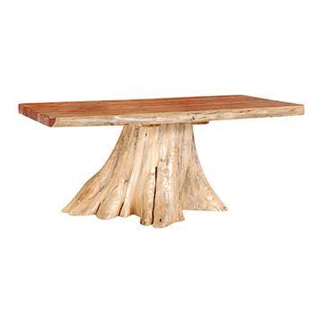 Red Cedar Stump Table