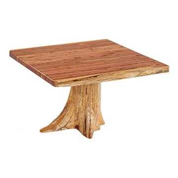Rustic Red Cedar Table