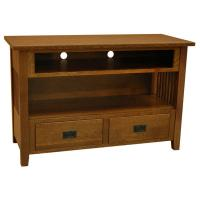 """48"""" Amish Mission Prairie TV Stand"""