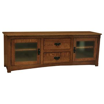 """70"""" Amish Mission TV Stand"""