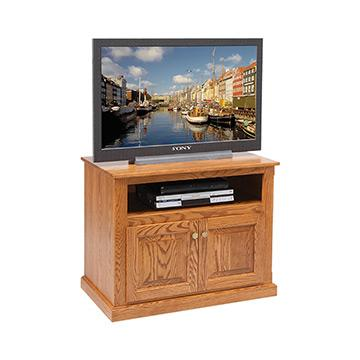 "36"" TV Unit w/Doors"