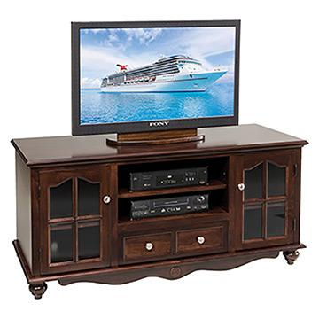 "60"" TV Unit w/Drawers"