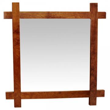 Amish Mission Cross Mirror