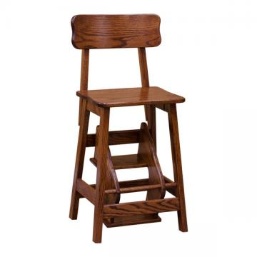 Flip out Stool w/ back