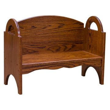 Amish Stackable Children's Bench / Bookcase