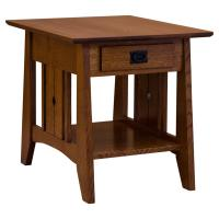 """22"""" x 23"""" Amish Tempe End Table"""