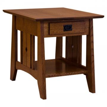 "22"" x 23"" Amish Tempe End Table"