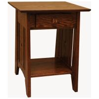 """22"""" Amish Tempe End Table"""