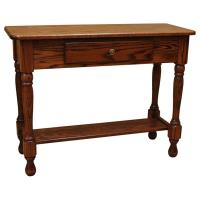 "36"" Amish Traditional Sofa Table"