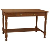 "48"" x 30"" Amish Traditional One Drawer Desk"