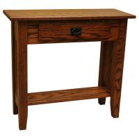 "30"" Amish Mission Prairie Sofa Table"