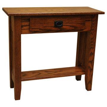 "30"" Amish Mission Prairie Sofa Table"