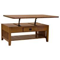 "48"" Custom Prairie Lift Top Coffee Table"