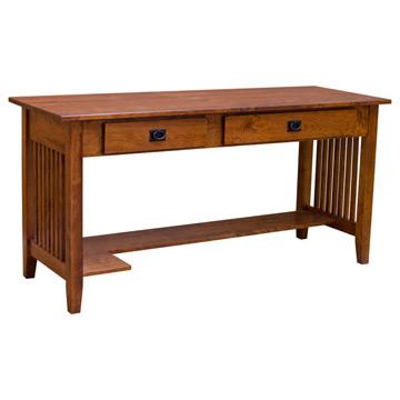 "60"" Prairie Amish Mission Desk-Rustic Cherry"