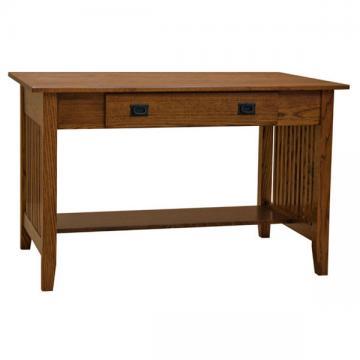 "48"" x 30"" Amish Mission Prairie Desk"