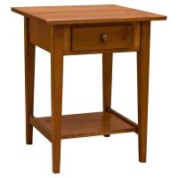 "22"" Amish Mission Shaker End Table"
