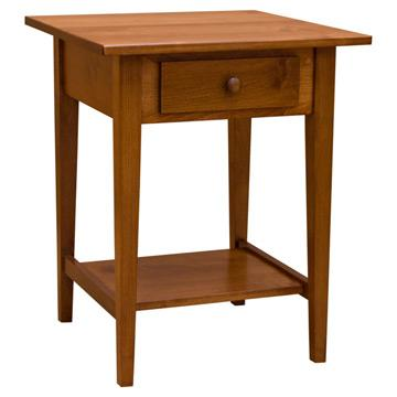 """22"""" Amish Mission Shaker End Table"""
