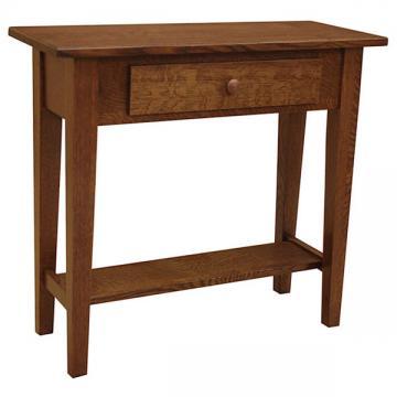 "30"" x 12"" Amish Mission Shaker Sofa Table"