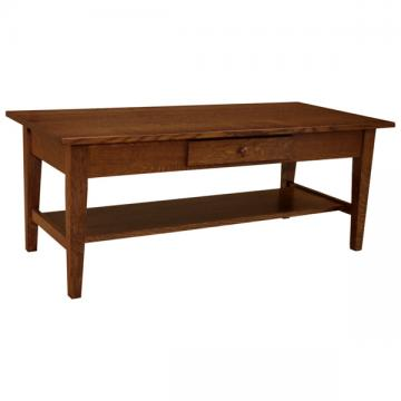 "48"" x 22"" Amish Mission Shaker Coffee Table"