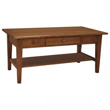"""42"""" x 22"""" Amish Mission Shaker Coffee Table"""