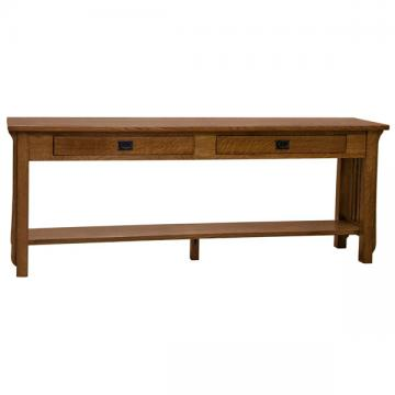 "72"" Amish Mission Spindle Sofa Table"
