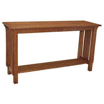 """54"""" Amish Mission Spindle Sofa Table"""