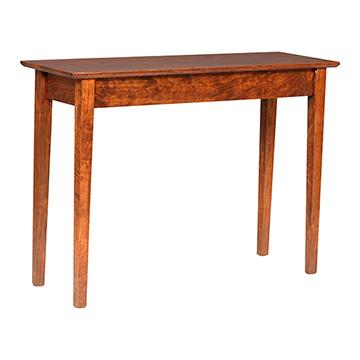 buckeye shaker sofa table sofa tables barn furniture rh barnfurnituremart com shaker style sofa table plans