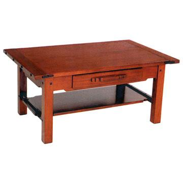 Greene & Greene Coffee Table w/ Drawer