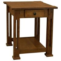 "20"" Amish Mission Parker End Table"