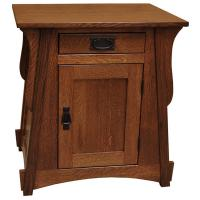 "25"" Amish Crofter End Table"