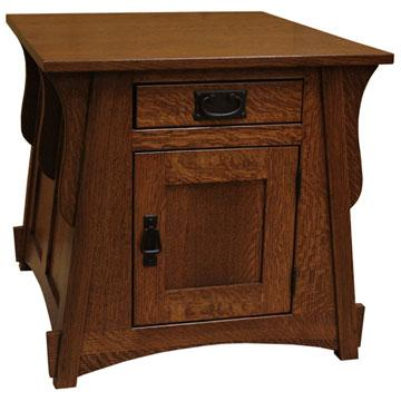 "24"" x 24"" Amish Crofter End Table"