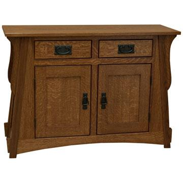 """38"""" Amish Mission Crofter Console"""