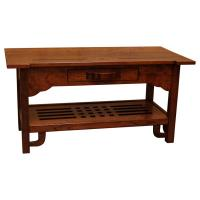 "36"" x 18"" Greene & Greene Coffee Table"