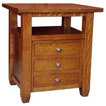 "25"" Amish End Table"