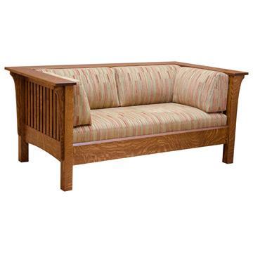 Prairie Love Seat w/ Fabric