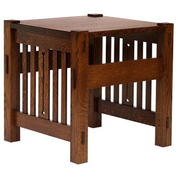 Mission Amish Morris End Table