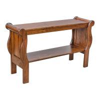 Sleigh Sofa Table