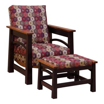 Two tone Madison Chair