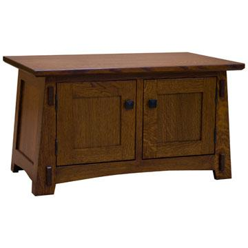 "32"" Amish Mission Double Sided Coffee Table"