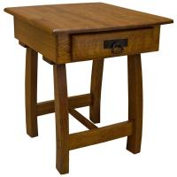 """22"""" x 26"""" Amish Mission Christy End Table"""